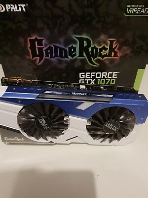 Palit Gamerock NVIDIA GTX 1070 Grafikkarte 8GB + G-Panel