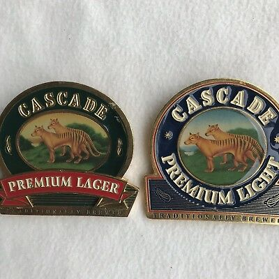 CASCADE X 2 beer tap top Badge In great Condition