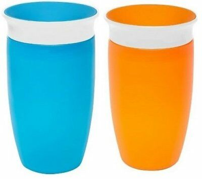 9 oz//266 ml and 6 oz//177 ml Munchkin Miracle 360 Degrees Sippy Cup with Trainer Cup Birds