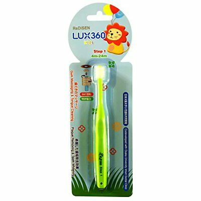 Kids Toothbrush 360 Brush Head Step 1 to Step 3 for Children Ages 4 months-12 Y