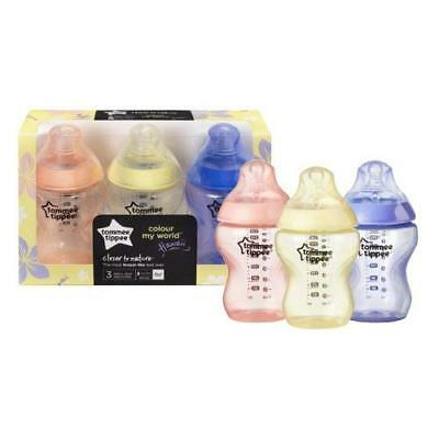 Closer to Nature Colour my world Feeding bottles from Tommee Tippee age 0m 260m
