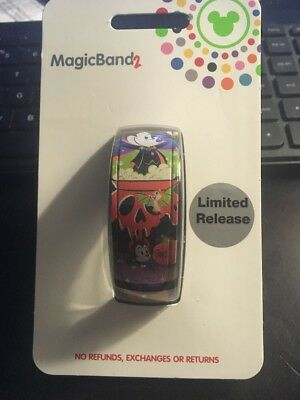 NEW Disney Parks Mickey Halloween 2018 Magic Band 2 Limited Edition