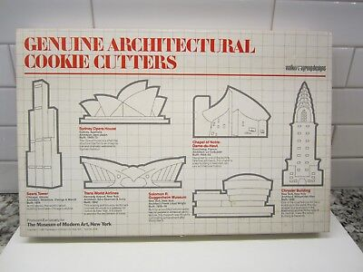 Architectural Cookie Cutters Museum Modern Art-Sears Tower,Chrysler,Guggenheim+