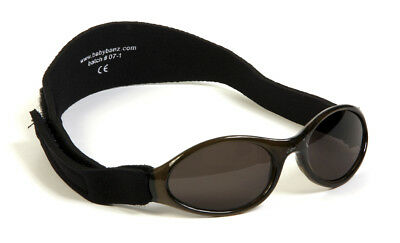 Baby Banz Sunglasses Toddlers Kids Sun Protection - Black