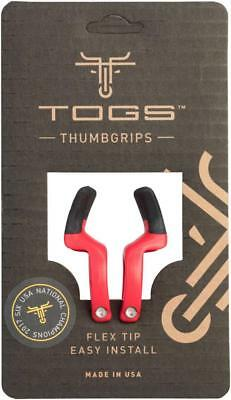 TOGS Red Flex Thumb Grips