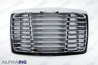 Freightliner Cascadia Grill with bugscreen fits 2008-2017 chrome by alpharig