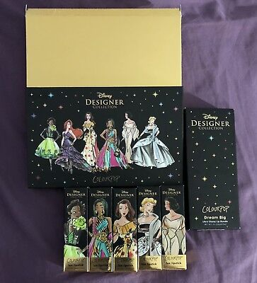Disney Designer Collection Make Up Set By Colourpop