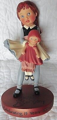 Helen Kish Commemorative 2006 Riley doll figurine holding doll Resin KISH & CO