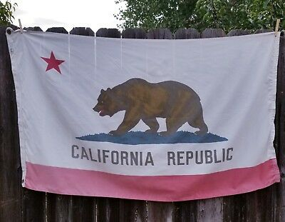 Respectfully Gently Used Patriarch California State Flag Official Bear Insignia