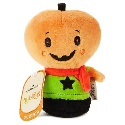New Hallmark Itty Bitty Bittys Monster Mash Pumpkid Halloween KDD1086 Free Ship!