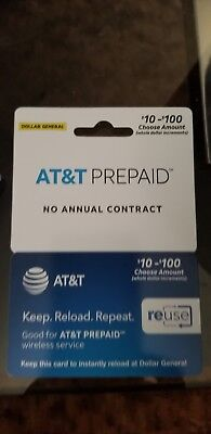 AT&T Go Phone $10 Refill - Fast & Right!
