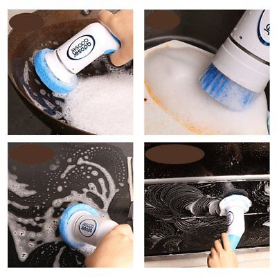 Multifunctional Kitchen Handheld Electric Cleaning Brush BY