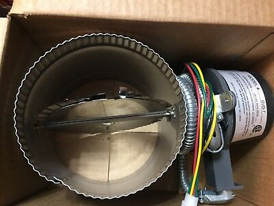 """New FIELD CONTROLS GVD-7 Vent Damper 7""""Automatic Vent Damper, With Harness!!"""