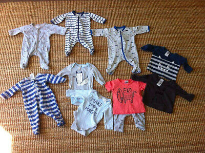 bulk baby clothes 0000-mixed brand-all 2018!-10 clothing items-smoke free home