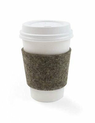 The Felt Store Felt Cup Sleeve - 28 x 6,4 cm, 3 mm thick - 4 Pack