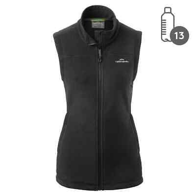 Kathmandu Trailhead Women's High Collar Full Zip Warm Winter Fleece Vest