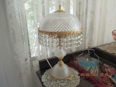 French Style / Vintage cut glass Lamp...