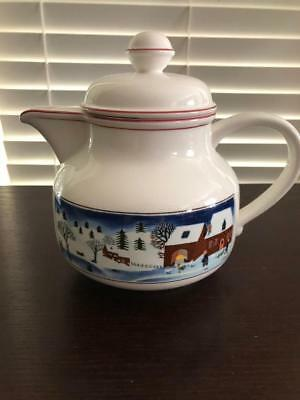 Villeroy & Boch Naif Christmas Teapot with Lid