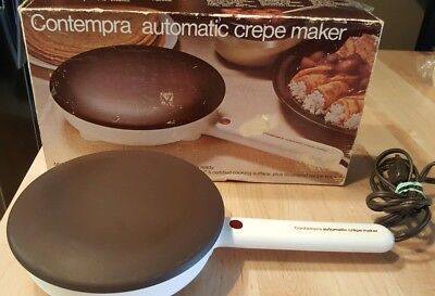 Contempra C-100 Automatic Crepe Maker - Teflon Excellent and Works