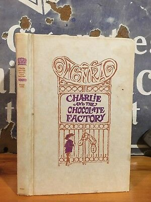 "Nice Roald Dahl ""Charlie & the Chocolate Factory"" 1973 Second Printing"