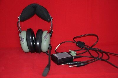 David Clark H10-13.4 ANR Headset Active Noise Reduction