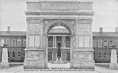 Angleterre Royal Engineers South African Memorial Arch.