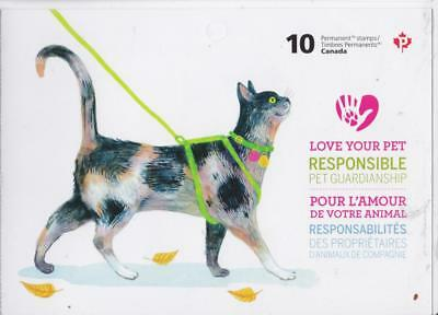 Canada 2015 Booklet #619 Love Your Pet - MNH