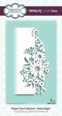 Creative Expressions Paper Cuts Kollektion Daisy Edger Craft Dies