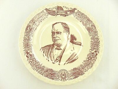 Historical James Hogg Attorney General Daughters of American Revolution Plate