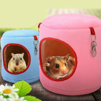 Warm Bed Rat Hammock Squirrel Winter Toys Pet Hamster Cage Hanging Nest Toy L2