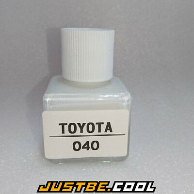 1 DAY SHIPMENT For TOYOTA #040 Super White II TOUCH UP PAINT CAR REPAIR 20ml