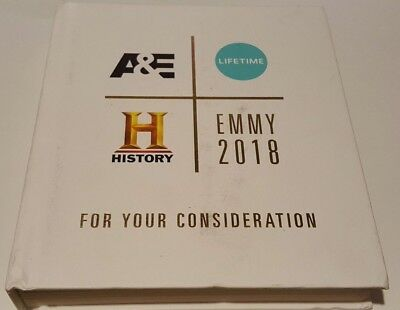 A&E, Lifetime, History 2018 Emmy Fyc Package Dvd 9 Discs, 24 Shows
