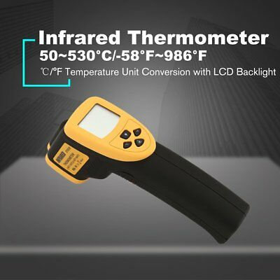 DT8530 Digital Handheld LCD Infrared Thermometer Temperature Gun Non Contact