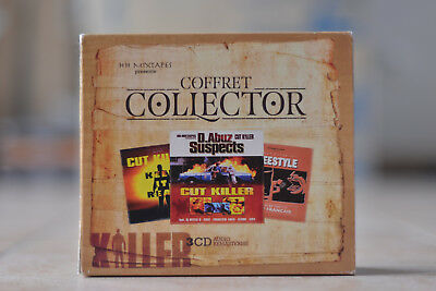 Cut Killer Coffret Collector 3 CD Freestyle Keep it Real D.Abuz 2015 rare OOP