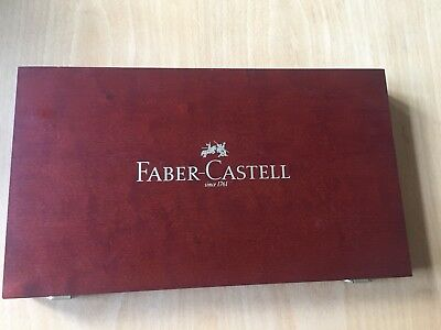 Faber-Castell 110088 - Art & Graphic COMPENDIUM Holzkoffer