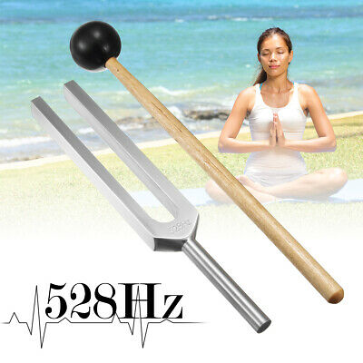 AU 528Hz MEDICAL Sensory Tuning Fork Hearing Hammer Neurological Examination SET