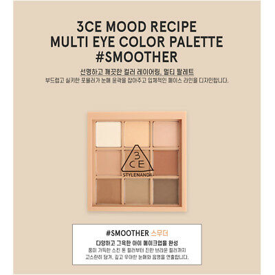 3CE 3 concept eyes Stylenanda MOOD RECIPE MULTI EYE COLOR PALETTE #SMOOTHER