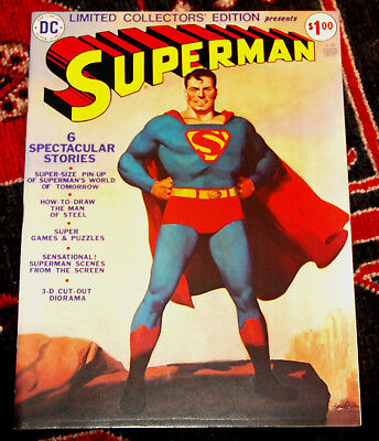 Limited Collectors' Edition #C-31 DC 1974 Superman NM- Scarce in High Grade!
