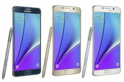 Samsung Galaxy Note 5 32GB Android Smartphone Unlocked 4G Excellent Condition A