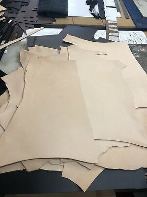 Tooling Leather Hides Natural Full Grain Leather Suitable For Embossing