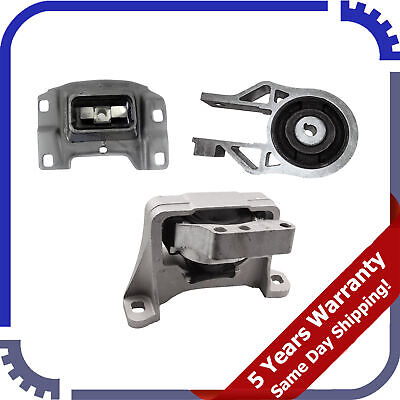for Ford Focus 2.0L W// Automatic Trans  05-07 Engine /& Transmission Mounts 3pc