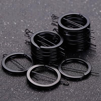 12Pcs Keyring Flat Split Key Rings 25mm Nickel Metal Plated Steel Hoop Loop Ring