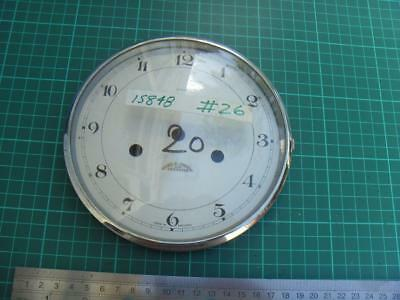 OS#20 1930'S Mantle Clock Part Bezel & Convex Glass max outer dia 158mm