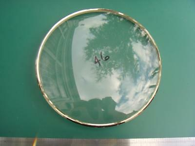 OS#13 1930'S Mantle Clock Part Bezel & Convex Glass max outer dia 159mm