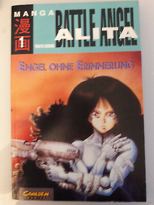 Battle Angel Alita Original Manga 1996   alle Bände 1-12 deutsche Erstauflage!