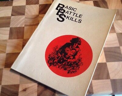Original 1970 British Army Training Manual Basic Battle Skills To Stay Alive