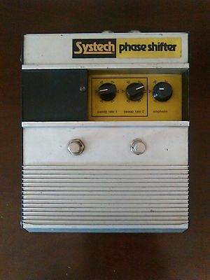 systech phase shifter vintage guitar effect