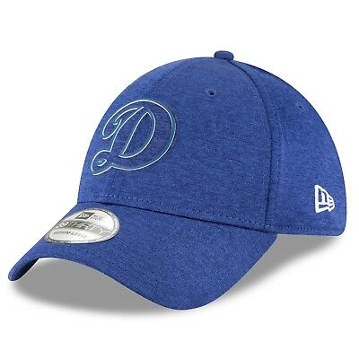 S/M Los Angeles Dodgers New Era 2018 Clubhouse 39THIRTY Stretch Fit Cap M53