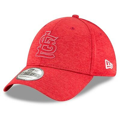 M/L St. Louis Cardinals New Era 2018 Clubhouse 39THIRTY Stretch Fit Cap M53