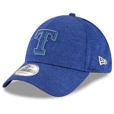 S/M Texas Rangers New Era 2018 Clubhouse 39THIRTY Stretch Fit Cap M52